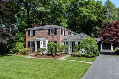 Wellesley Single Family Home Under Agreement: 14 Park Avenue