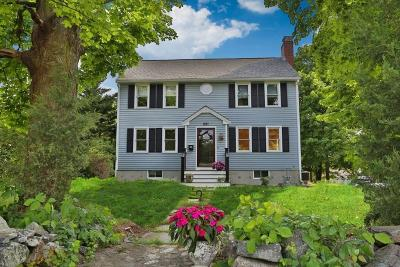 Waltham Single Family Home Under Agreement: 251 Trapelo Rd