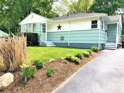 Waltham Single Family Home Contingent: 134 Lake