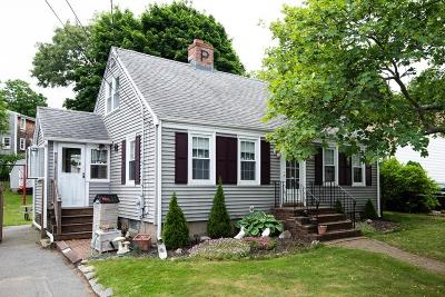 Quincy Single Family Home Contingent: 18 Hardwick Rd
