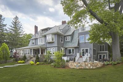Arlington MA Single Family Home Under Agreement: $1,795,000