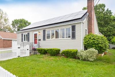 Watertown MA Single Family Home For Sale: $689,000
