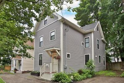 Arlington MA Single Family Home Under Agreement: $845,000