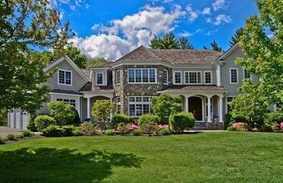 Wellesley Single Family Home Under Agreement: 1 Stonefield Ln