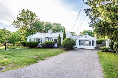 Dedham Single Family Home Price Changed: 79 Park St
