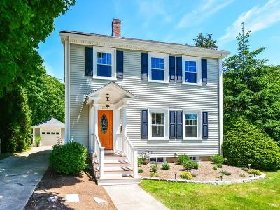 Mansfield Single Family Home Under Agreement: 255 Central St