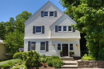 Single Family Home Under Agreement: 22 Tappan Street