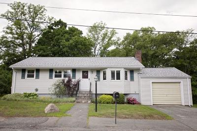 Marlborough Single Family Home Under Agreement: 22 Labelle St