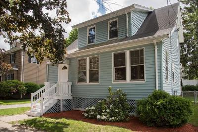 Melrose Single Family Home Under Agreement: 65 Pearl Street