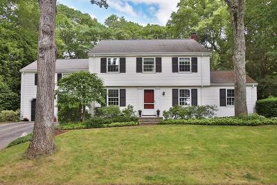 Wellesley Single Family Home For Sale: 110 Suffolk Rd