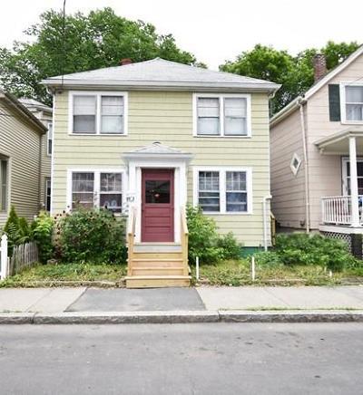 Somerville Multi Family Home Sold: 81-83 Moreland Street