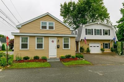 Burlington Single Family Home Under Agreement: 16 Carlton Ave