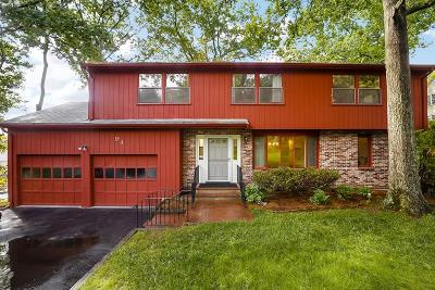 Waltham Single Family Home For Sale: 94 Sherbourne Place
