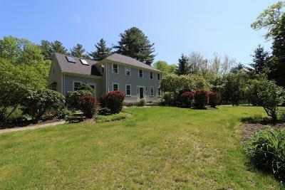 Sherborn Single Family Home For Sale: 19 Woodland Street
