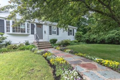 Woburn Single Family Home Under Agreement: 20 Davis St