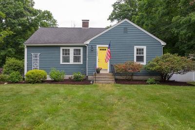 Holliston Single Family Home For Sale: 1084 Washington Street
