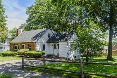 Dedham Single Family Home For Sale: 12 Reed St