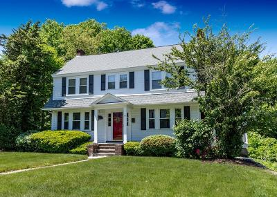Dedham Single Family Home Contingent: 131 Walnut Street
