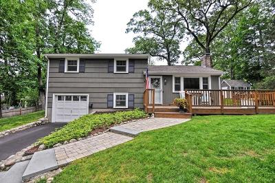 Natick Single Family Home Under Agreement: 10 Winslow Road