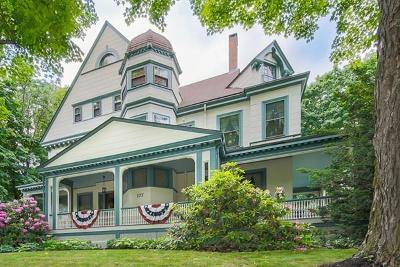 Newton Condo/Townhouse Under Agreement: 175 Walnut St #175