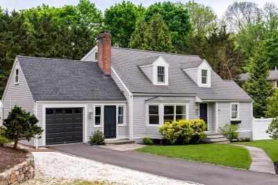 Cohasset MA Single Family Home For Sale: $1,199,000