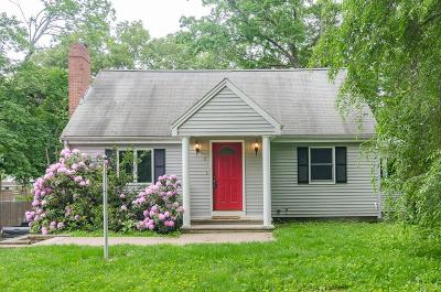 Natick Single Family Home Contingent: 8 Dartmouth St.