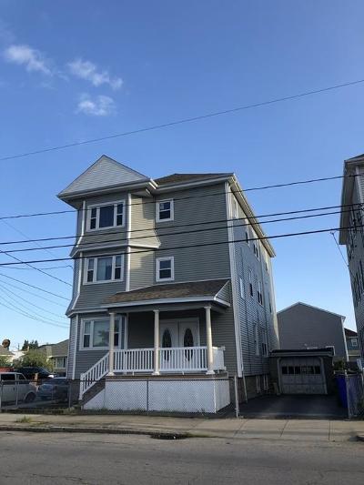 Fall River Multi Family Home Back On Market: 965-967 Globe St.