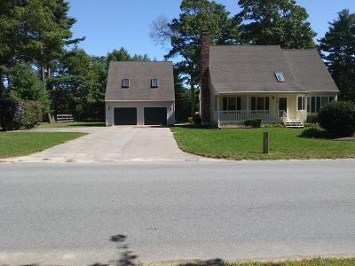 Wareham Single Family Home Contingent: 19 Windsor Dr