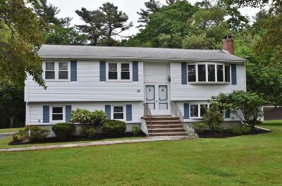 Burlington Single Family Home Contingent: 16 Marjorie Rd