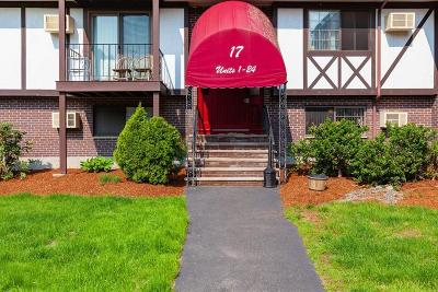 Mansfield Condo/Townhouse Under Agreement: 17 Erick Road #7