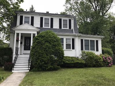 Braintree Single Family Home For Sale: 50 Cleveland Ave