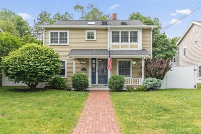 Hingham Single Family Home Under Agreement: 42 Kimball Beach Rd