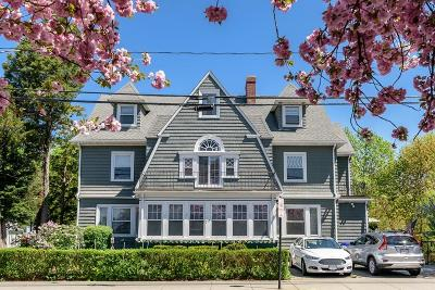 Brookline Condo/Townhouse Under Agreement: 232 Aspinwall Ave #2