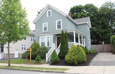 Medford Single Family Home Contingent: 22 Emery St