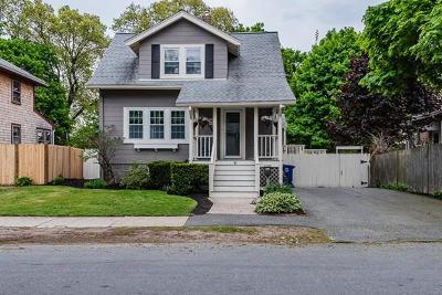 Braintree Single Family Home Contingent: 45 Beechwood Rd