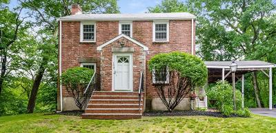 Dedham Single Family Home Contingent: 150 Ames Street