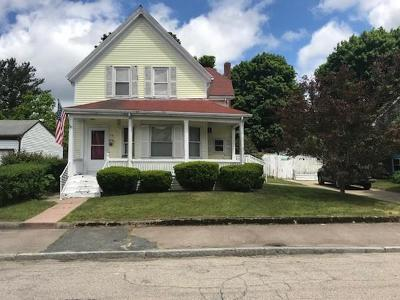 Brockton Single Family Home Under Agreement: 70 Wheeler Ave