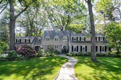 Wellesley Single Family Home For Sale: 30 Whiting Road