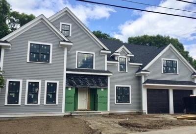 Needham Single Family Home For Sale: 199 Tudor Road