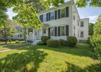 Rockland Multi Family Home Under Agreement: 57 Exchange St
