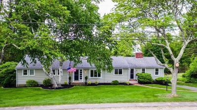 Scituate Single Family Home Contingent: 31 Sedgewick Drive