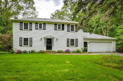 Sudbury Single Family Home Under Agreement: 215 Goodmans Hill Road