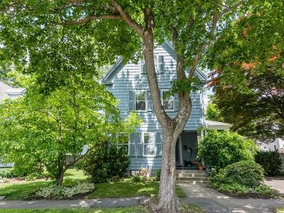 Newton Single Family Home Under Agreement: 23 Fuller Terr