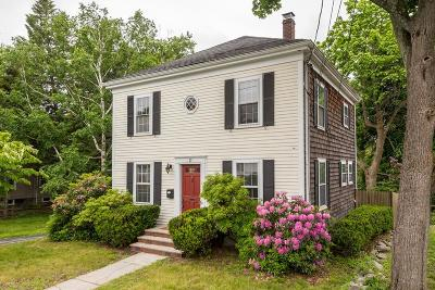 Braintree Single Family Home Under Agreement: 17 Jersey Ave