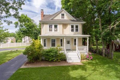 West Bridgewater Single Family Home For Sale: 522 Manley Street