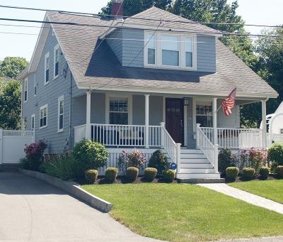 Braintree Single Family Home Under Agreement: 24 Wampatuck Road