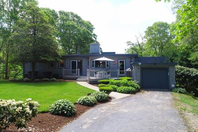 Barnstable Single Family Home For Sale: 43 Hi-Ona-Hill Road