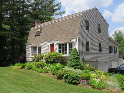 Westborough Single Family Home Under Agreement: 55 Fisher
