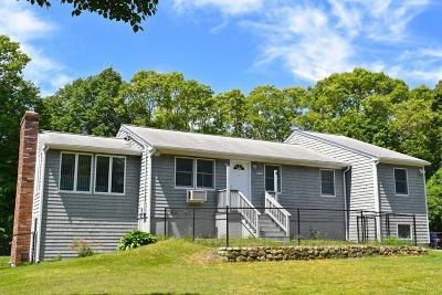 Wareham Single Family Home Under Agreement: 269 Cromesett Road