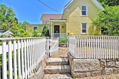 Gloucester MA Single Family Home Under Agreement: $455,000